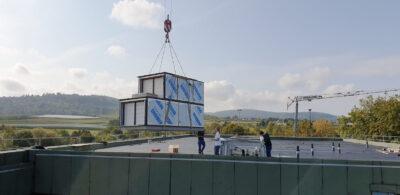 SG Cube Sport (DE) SKW12Recu 15.000m3/h